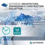 Autodesk Architecture, Engineering & Construction Collection - licencja roczna (Multi-user)