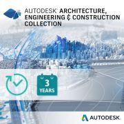 Autodesk Architecture, Engineering & Construction Collection - Subskrypcja 3-letnia (Multi-user)