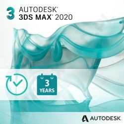 Autodesk 3ds Max 2020 - Subskrypcja 3-letnia