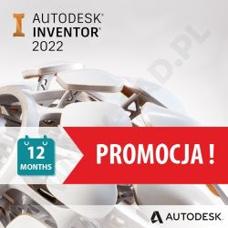 Autodesk Inventor Professional 2022 - Subskrypcja roczna
