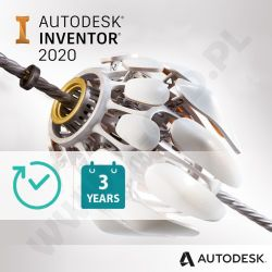Autodesk Inventor Professional 2019 - Subskrypcja 3-letnia