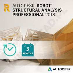 Autodesk Robot Structural Analysis Professional 2018 - licencja kwartalna
