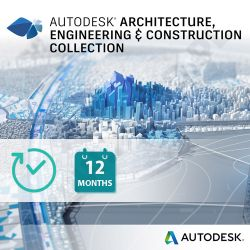 Autodesk Architecture, Engineering & Construction Collection - licencja roczna